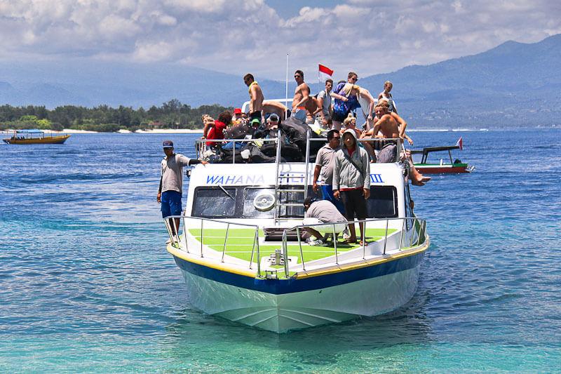 бали лодка остров