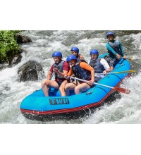 Rafting on Telaga Waja River 14km