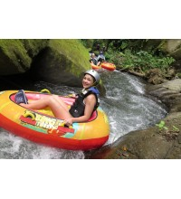 Tubing on Ayung River