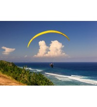 Flying on Paragliding Tandem