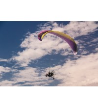 Flying on a Powered Parachute