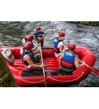 Rafting on Telaga Waja River 18km
